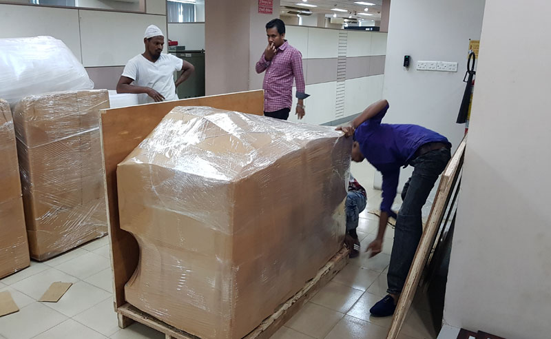 Office packing and shifting