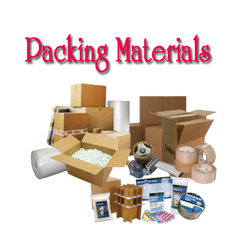 packing materials of relocation service