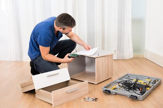Furniture assemble dissemble