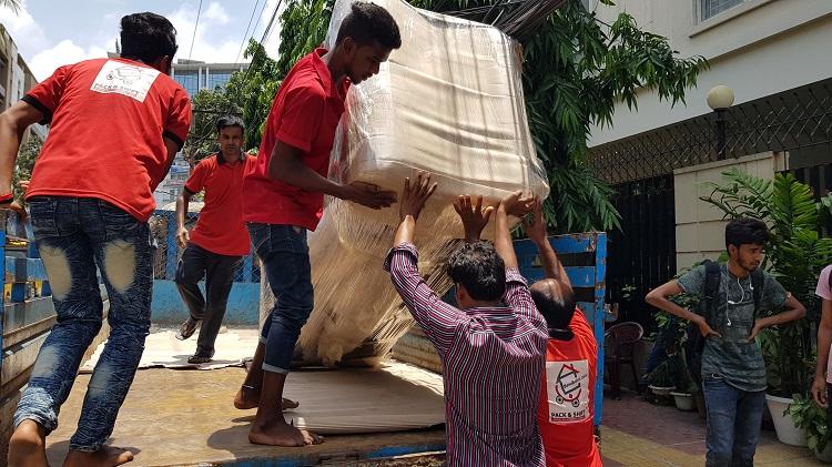 loading unloading service in Dhaka