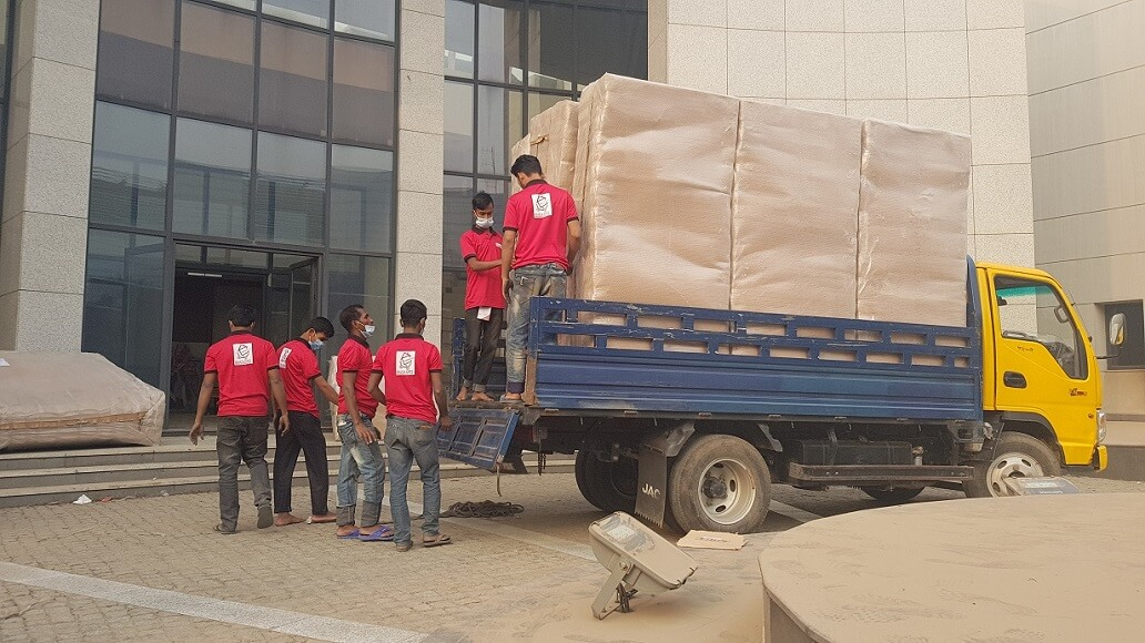 Office shifting services in Dhaka
